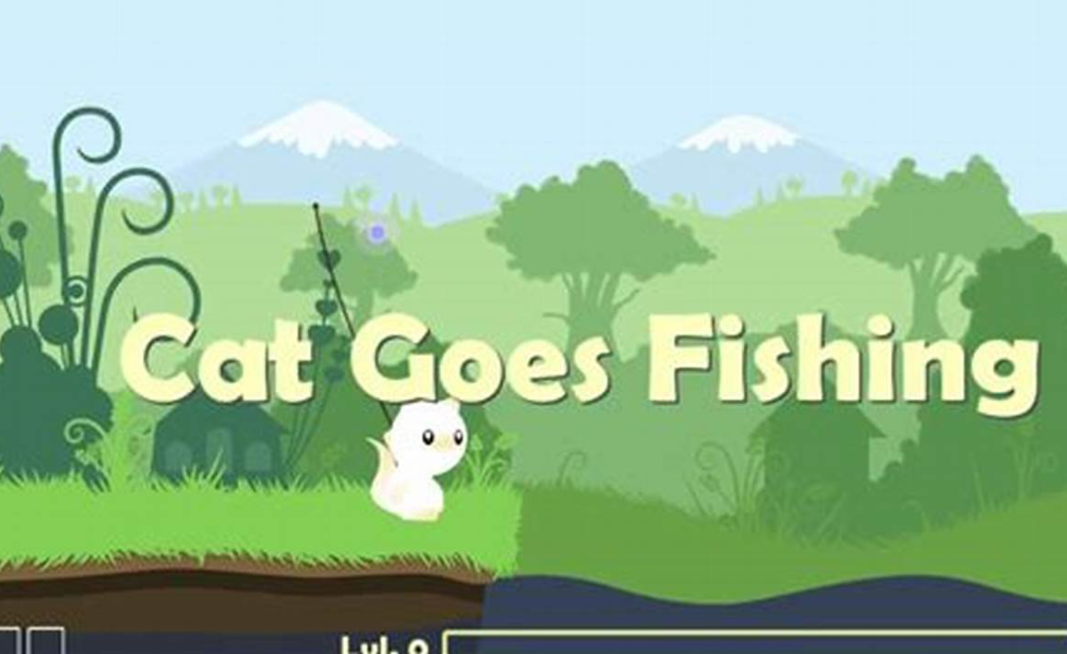 cat goes fishing download game