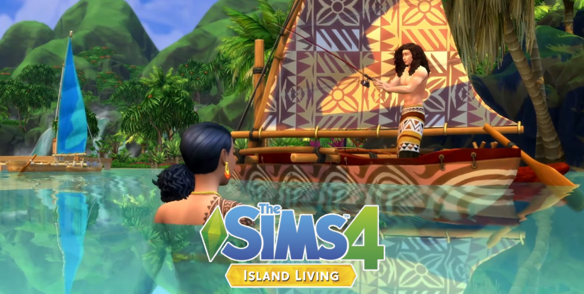 sims 4 island living download pc