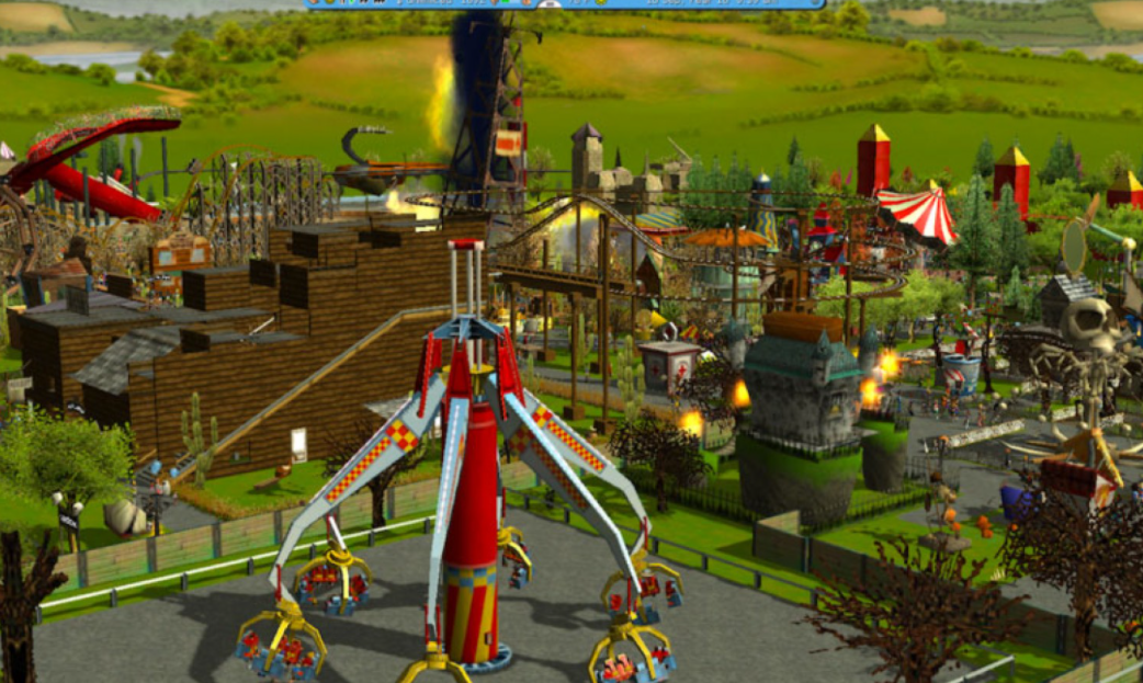 rollercoaster tycoon 3 platinum download game