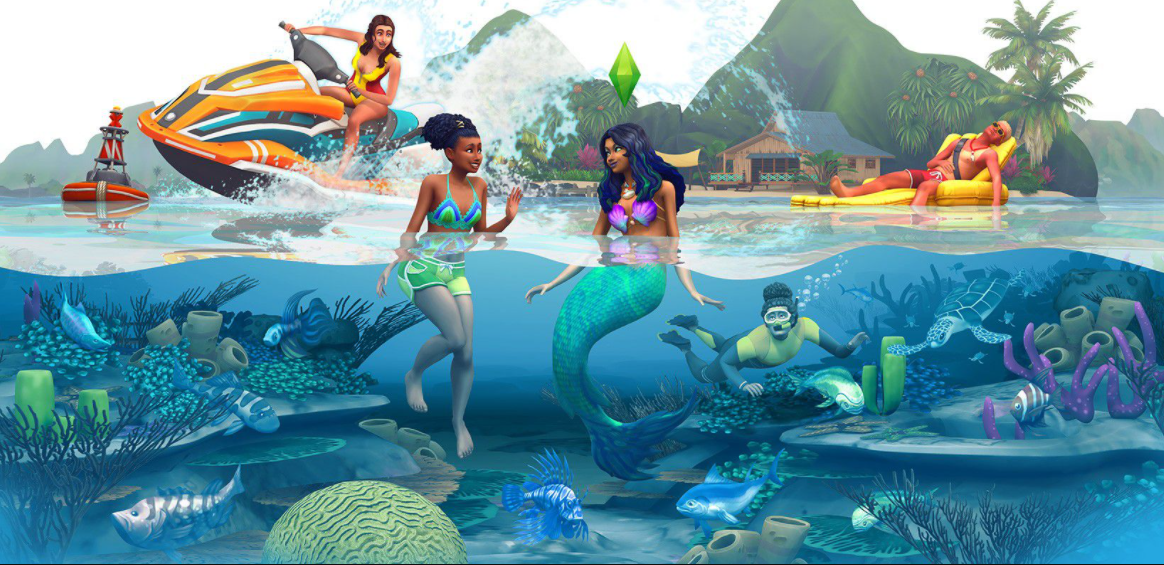 sims 4 island living download free