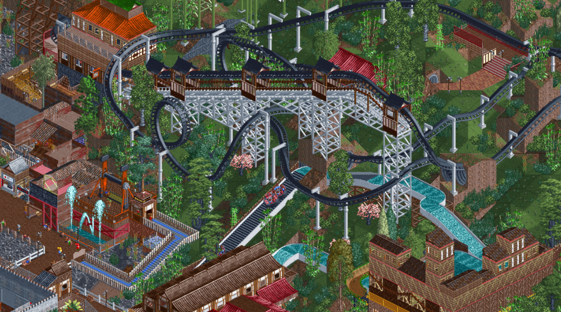 rollercoaster tycoon 2 free download game
