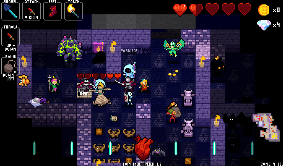 crypt of the necrodancer download pc game free