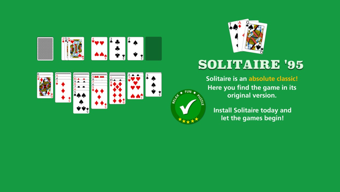 microsoft solitaire download free